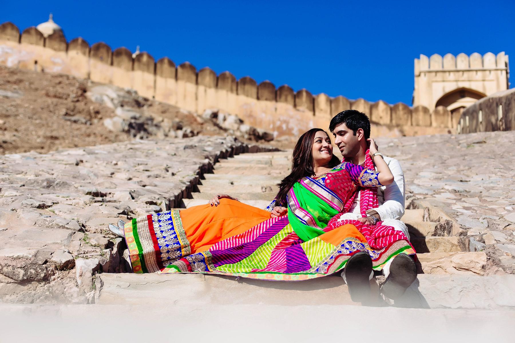 Jaipur Pre Wedding Photography Candid Wedding