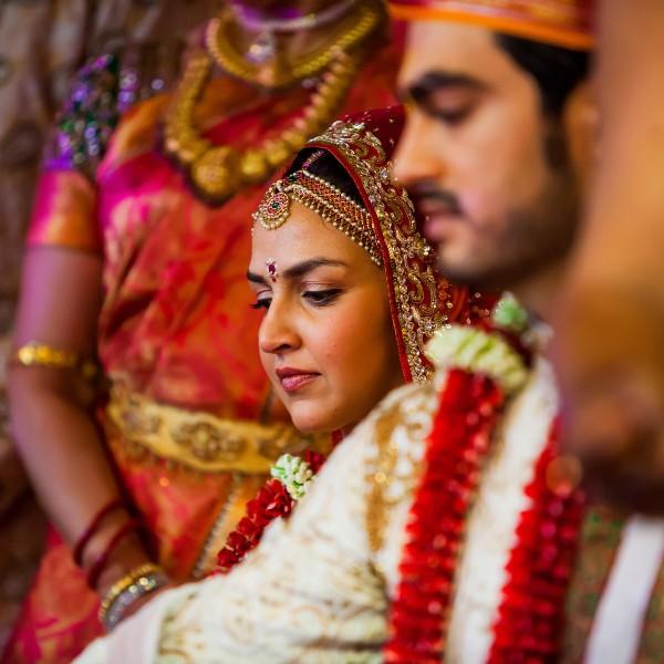 Esha + Bharat - Juhu Iskcon Temple Wedding - Mumbai