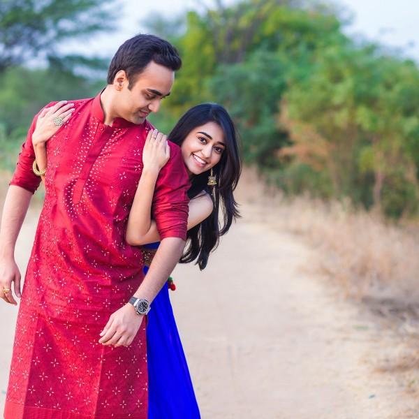 Jainit + Shaivi - Pre Wedding - Thol Lake Ahmedabad