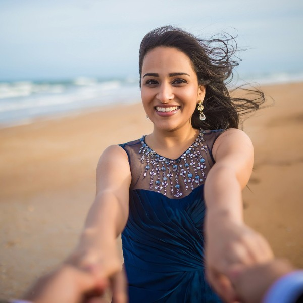 Anand + Zil - Pre Wedding Shoot - Fort Clinch State Park