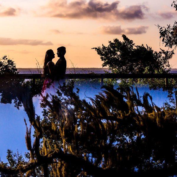 Karisma + Ashish - Beach Engagement - Jacksonville Florida