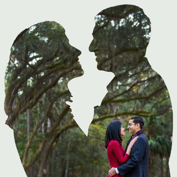 Prerna + Aniruddha - Couple Portraits - Savannah, GA
