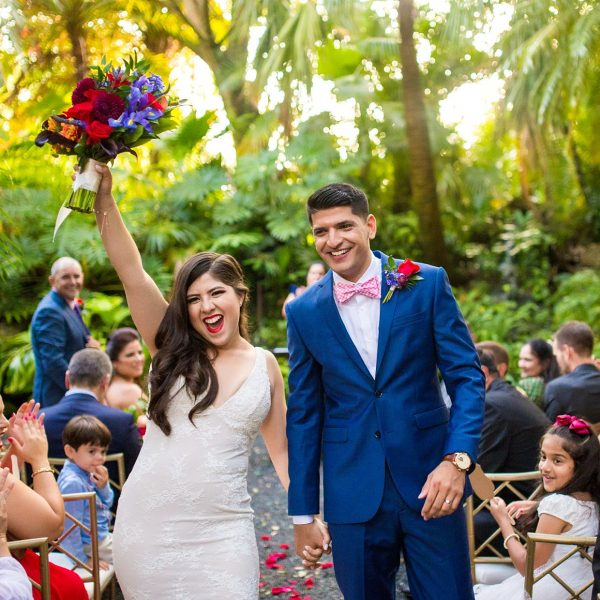 Archit & Melanie's Tropical Destination Wedding at The Cooper Estate Miami